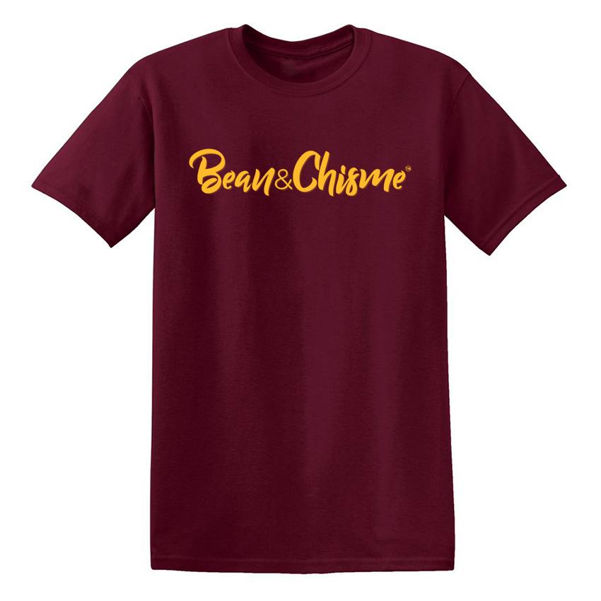 Bean & Chisme Maroon T-Shirt